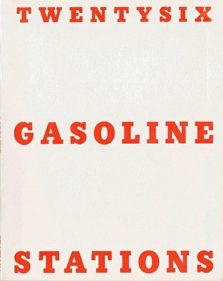 "Ed Rusha ""Twentysix gasoline stations"""