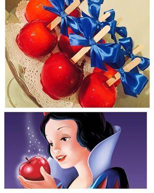 Snow White party Apple Season by WD