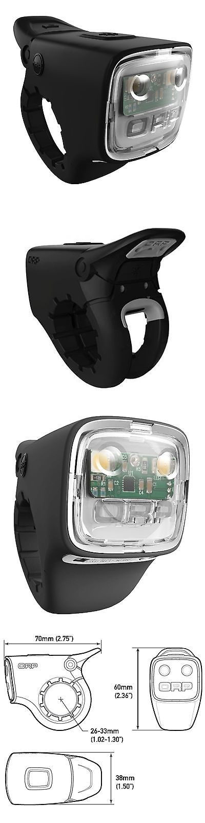 Bells and Horns 123474: New Orp Smart Horn And Front Bike Light - Loud Bicycle Bell -> BUY IT NOW ONLY: $49.95 on eBay!