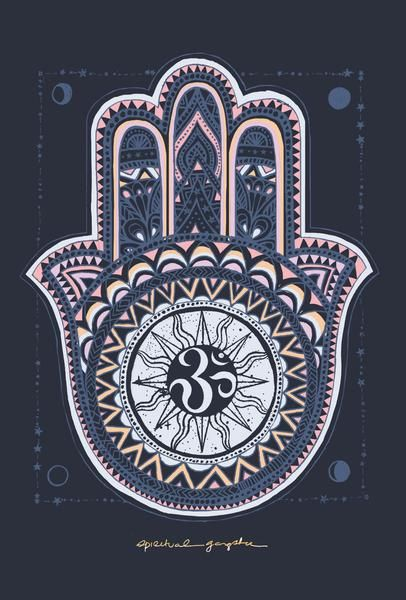 The Hamsa Handisa universalsign of protection, power and strength that dates back toancient Mesopotamia.