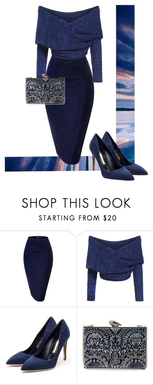 """""""Untitled #568"""" by aalexandraa-lalala ❤ liked on Polyvore featuring Rupert Sanderson and KOTUR"""