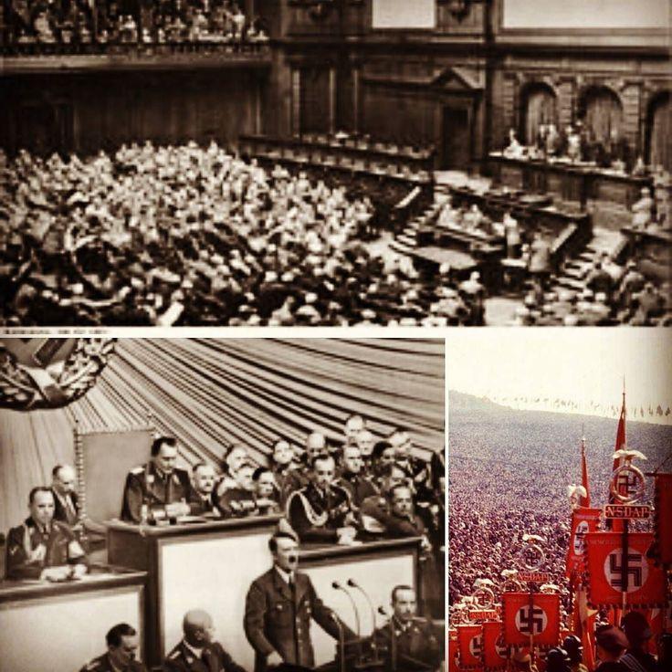 31 de Julho de 1932 -  Num momento político turbulento com uma longa crise política e econômica após a I Guerra Mundial (1914 - 1918) a Alemanha realizou eleições legislativas (terceira em cinco meses) o que levou o Partido Nacional Socialista dos Trabalhadores Alemães (Partido Nazista) a conseguir cerca de 230 das 608 cadeiras do Parlamento Alemão (Reichstag)  tornando-se o partido com a maior representação no legislativo. A campanha anticomunista as promessas de vitória sobre o desemprego…