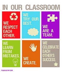 in our classroom we...