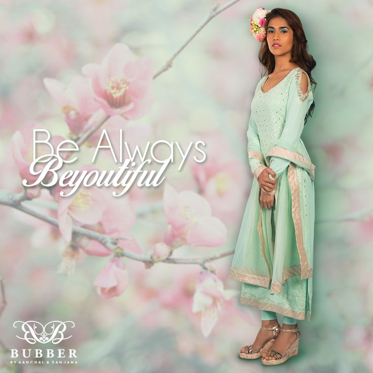 Be Always Be-you-tiful with Bubber Couture! Order our Mint Zardozi Chikankari 'Sakura' Cold Shoulder Ensemble today! Contact: 9819980846/9820709875 The Bubber Couture Store. Google map link-https://goo.gl/maps/YvPDNrLEuBv Email: info@bubbercouture.com #newcollection #ss17 #mint #lucknowi #chikankari #springsummer #sakura #cherryblossom #straightcut #kurta offshoulder #coldshoulder #odetothecherryblossom #bubbercouture