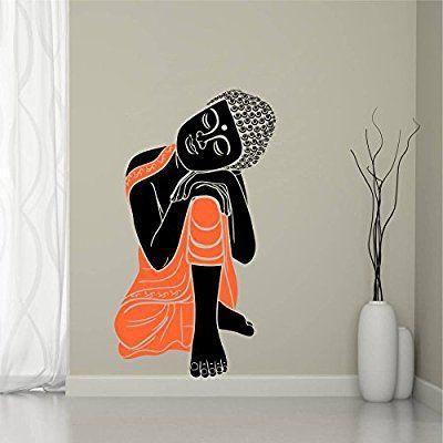 Buy Sleeping Buddha Wall Decal at Lowest Prices in India | Wall Art - SRG India   #buddha #wallart #art #homedecor #sticker #india #god