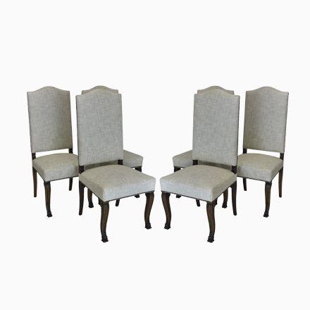 Schön Französische Esszimmerstühle Mit Hoher Rückenlehne, 1830er, 6er Set Jetzt  Bestellen Unter: ...