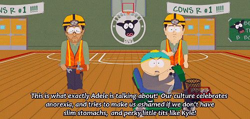 <b>Cartman is known for his vulgarity, crazy antics and masterful plots.</b> He