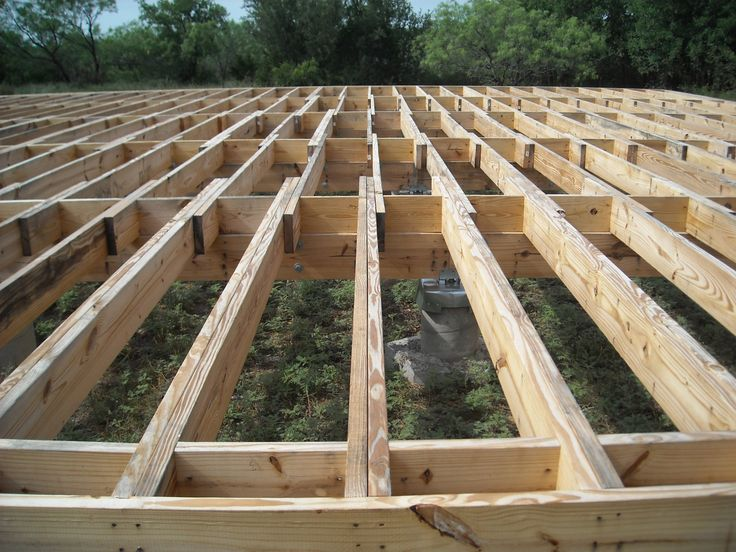 14 best floor joist images on pinterest building for Wood floor joist spacing