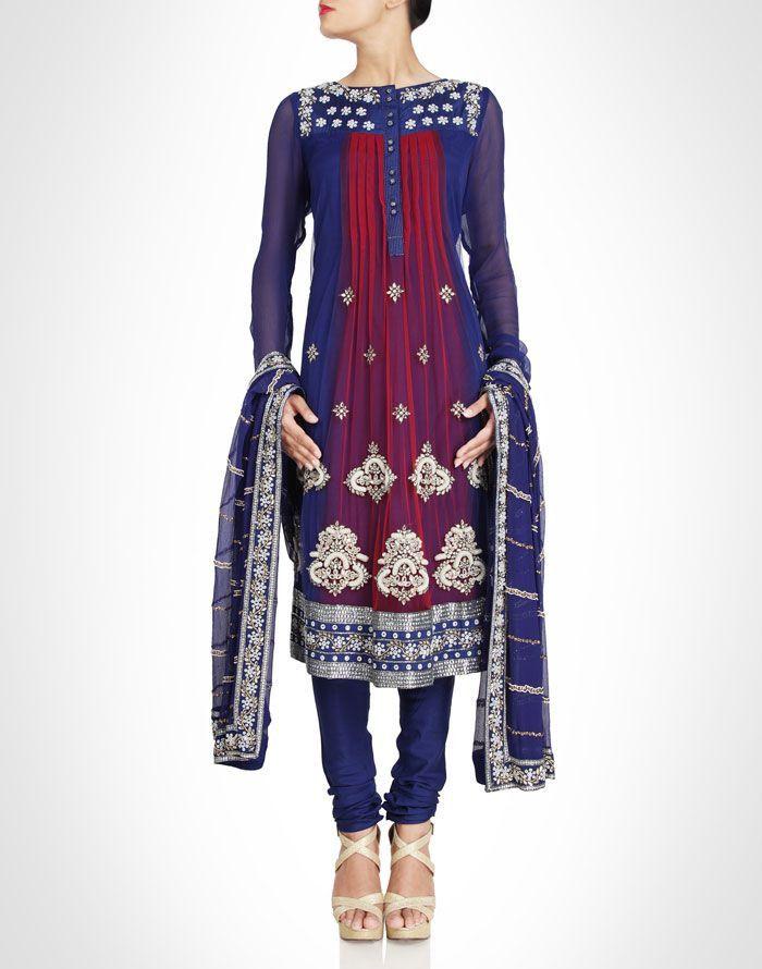 Color Designer 159 best indo western gowns collection images on pinterest