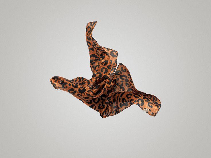 leopard silk scarf @ www.tsiakiris.gr