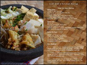 Diah Didi's Kitchen: Sarapan Yukkk.....Tahu Kupat Magelang