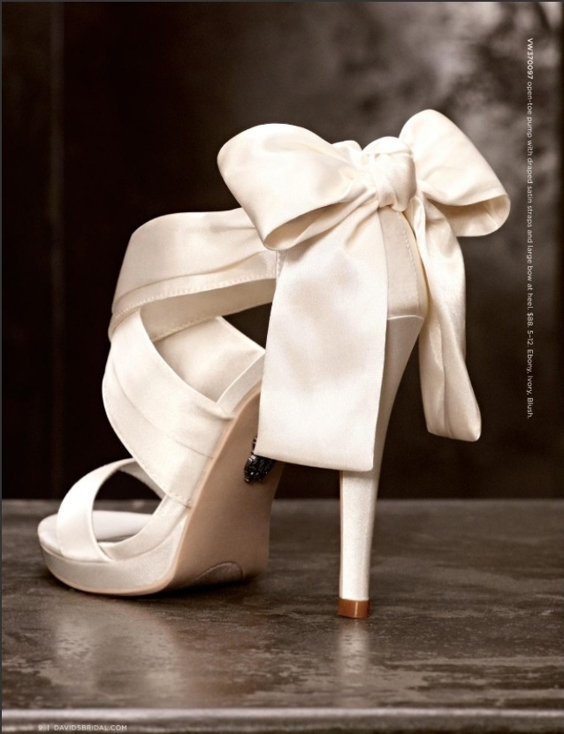 Shoes !!!!!!                                       Vera Wang for David's Bridal, First Shoes!!!