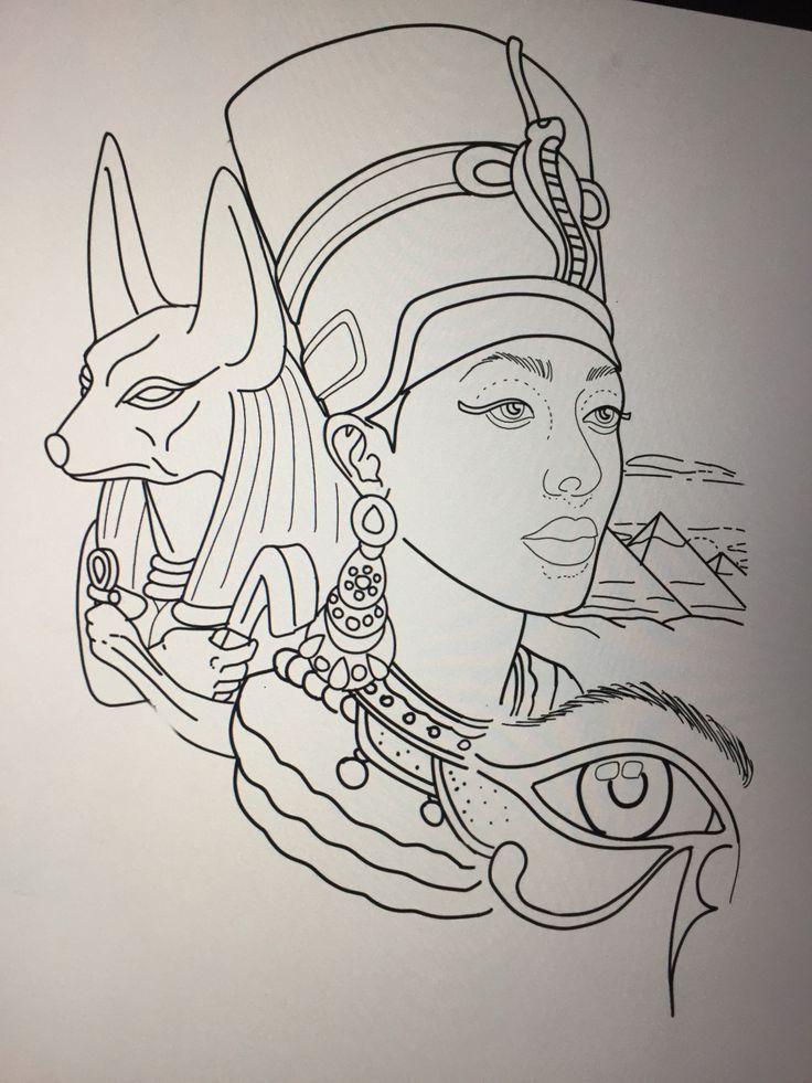 25 best ideas about egyptian tattoo on pinterest egypt for Egyptian tattoo flash