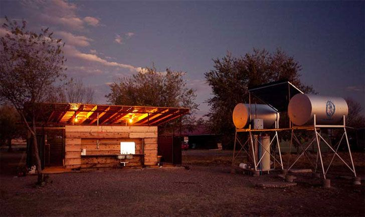 El Cosmico: A Hipster Campground Featuring Eco Yurts, Teepees ...