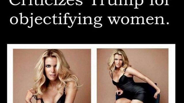 WHOA! Donald Trump Escalates war with Fox and Tweeted This Pic of Megyn Kelly...