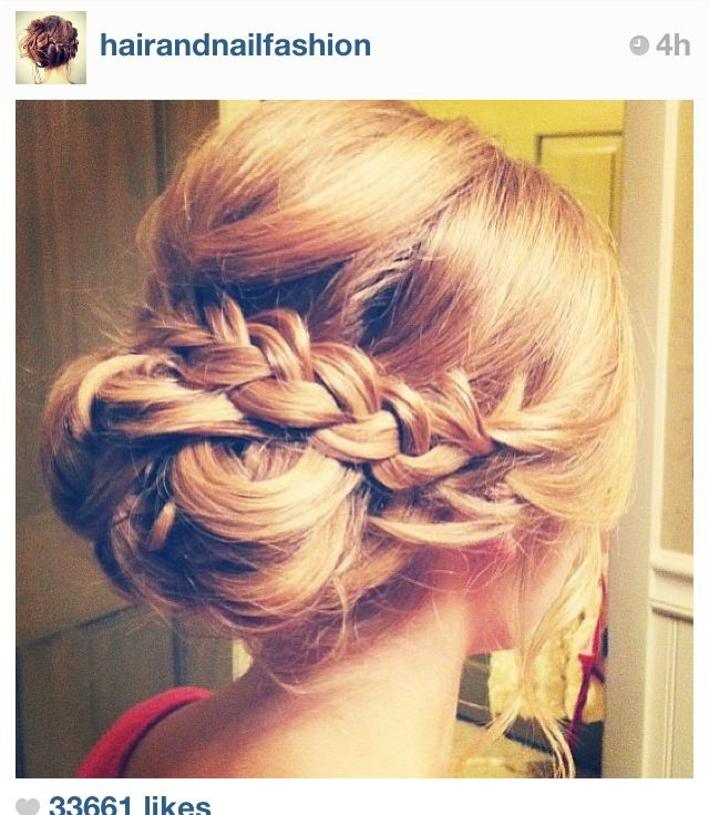Braid updo!