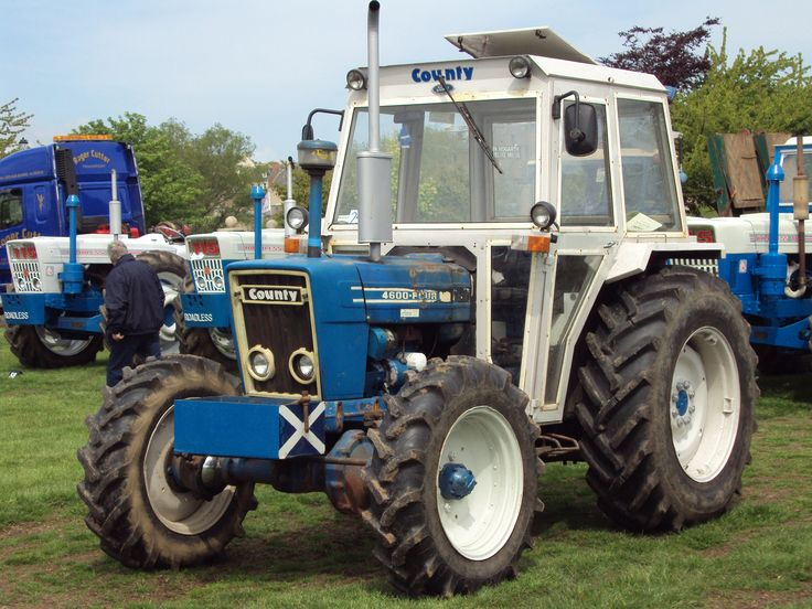 ford county 4600four �� tractor mania �� pinterest