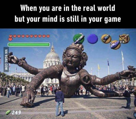 Gamers will be gamers