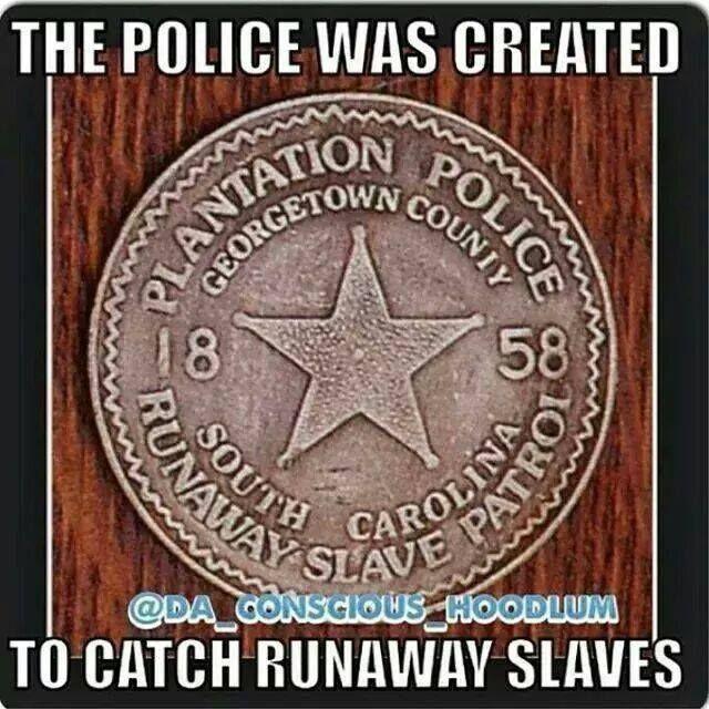 Plantation Police Patrol Created To Catch Runaway Slaves