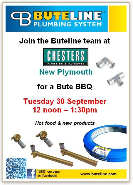 Bute BBQ @ Chesters New Plymouth on Tue 30 Sep 2014