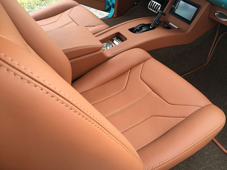 1957 Chevy Twin Turbo LS Custom Interior By Bux Customs Hot Rod Interiors