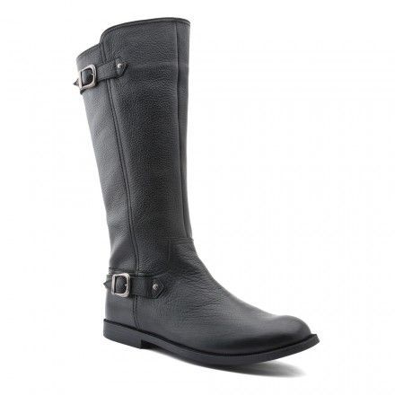 Cavaletti, Black Leather Girls Zip-up Boots - Boots - Girls Shoes http://www.startriteshoes.com/girls-shoes/boots/cavaletti-black-girls-zip-boots