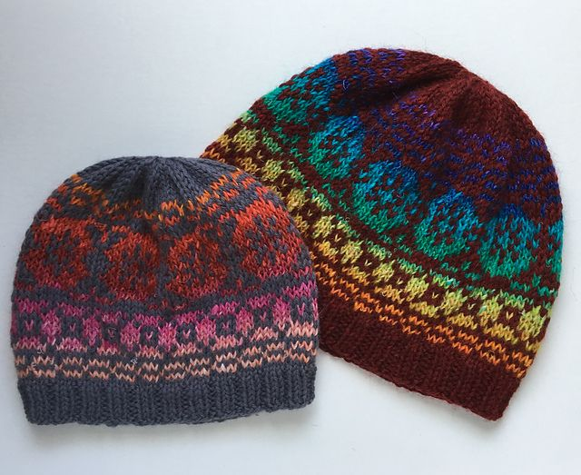 533 best Fair Isle/Stranded Hats, Mitts, Gloves images on ...
