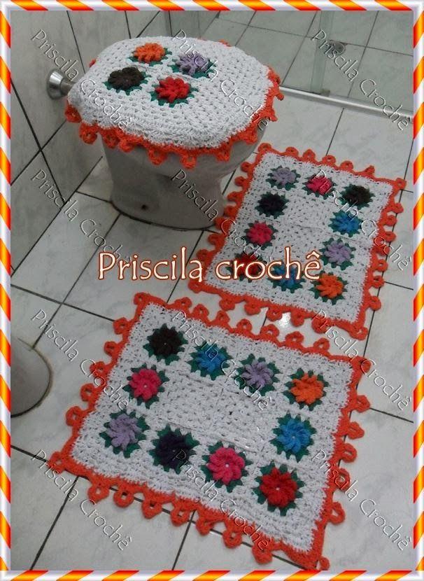 Jogo de Banheiro Croche