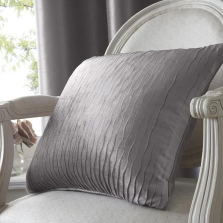 Silver Opulence Collection Filled Cushion