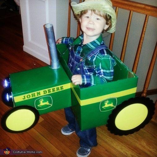 Little John Deere Tractor Farmer - Halloween Costume Contest via @costume_works