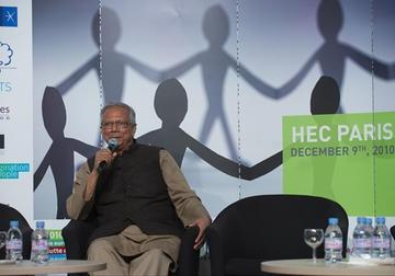 "Conference ""Digital 4 Change"" with Professor Yunus"
