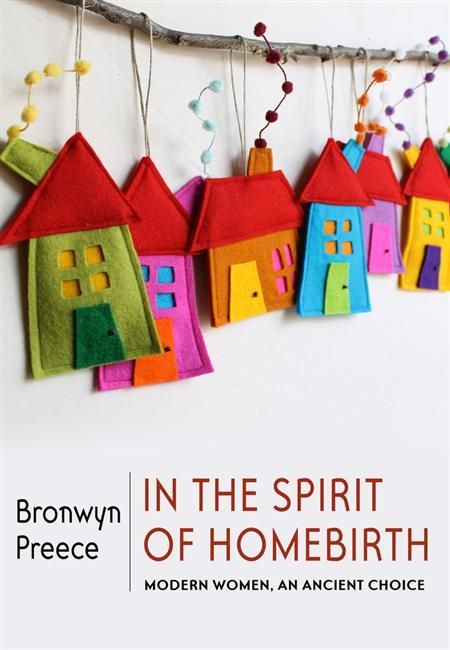 Whether you're into homebirthing or not, there's no denying the delight of this book cover!