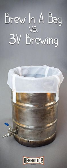 Brew in a Bag vs 3v Brewing: The Pros & Cons Compared  #craftbeer #beer