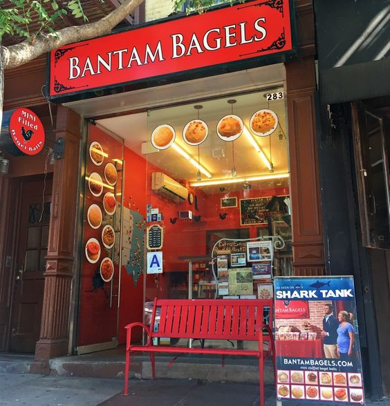 The mini bite bagels from Bantam Bagel are heading into over 7,000 Starbucks locations in September 2016. The entrepreneurs behind the company, were featured on Shark Tank and featured with QVC queen Lori Greiner.