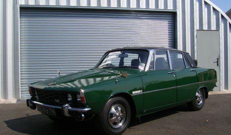 1972 ROVER P6 3500 S