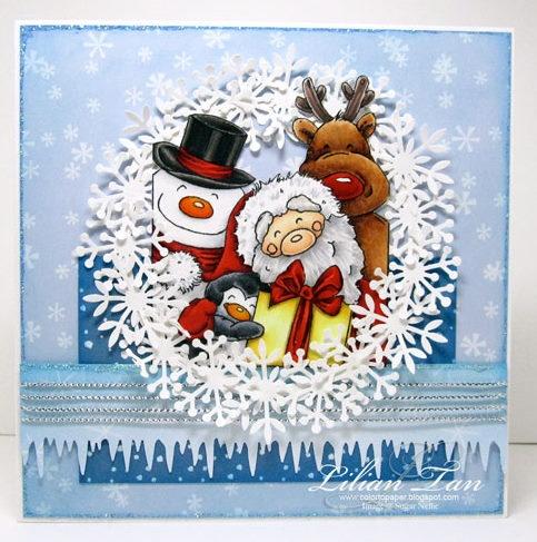 88 best Cards: Christmas Santa/Elves images on Pinterest | Xmas ...
