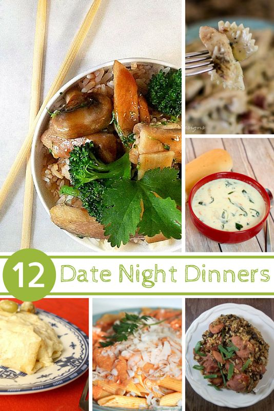 Date Night Dinners--12 Reasons to Stay In