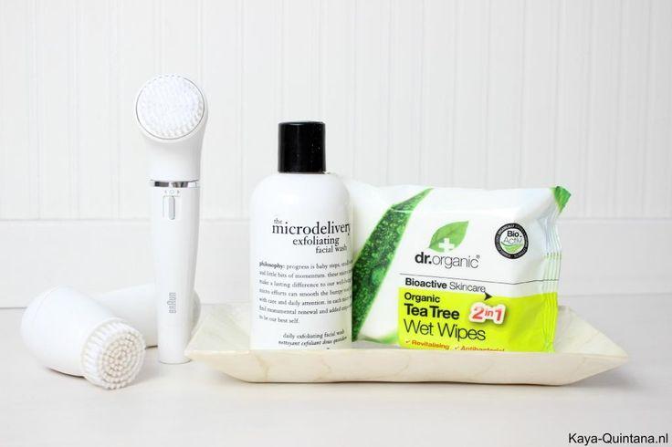 Huidverzorging: Elektrische gezichtsreiniger, gezichtsborstels van Braun