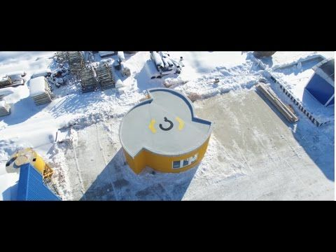 Apis Cor: first residential house has been printed! - YouTube