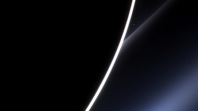 images of Venus as photographed from NASA's Cassini spacecraft