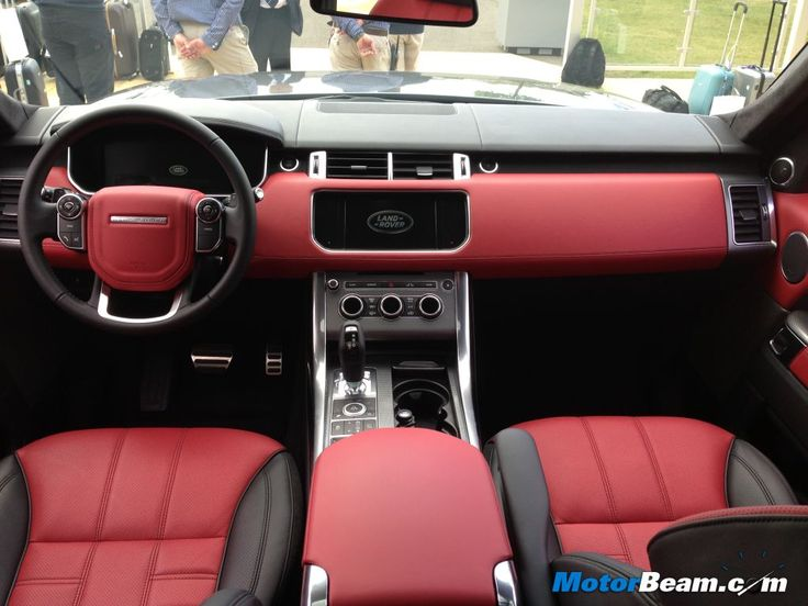 range rover red interior - Hledat Googlem