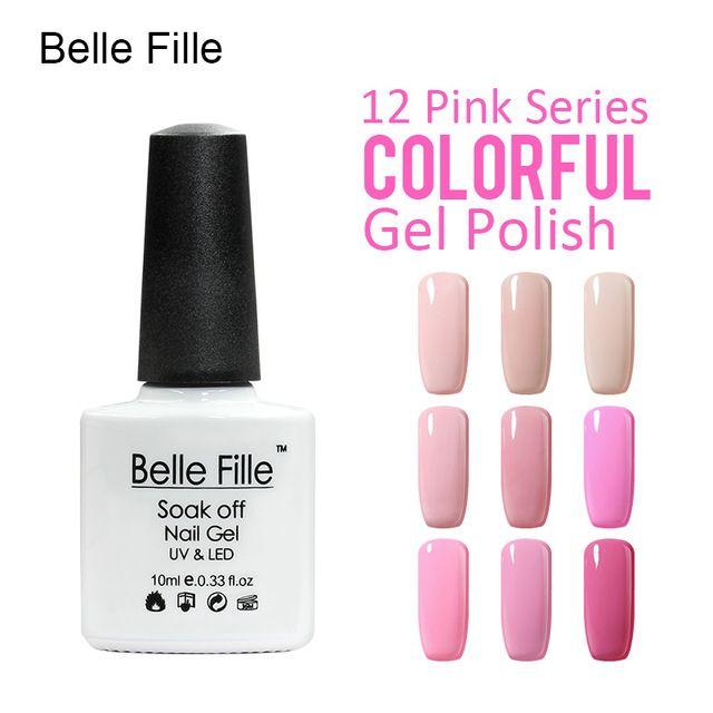 💬 #Belle #Fille #Лак Для #Ногтей #Гелем #УФ #Лак #Для #Ногтей #Профессиональный #База #Top #Розовый #Сладкие #Конфеты  💰Цена: ₽117,53 руб. / шт  📦Заказать: http://ali.pub/5flrw
