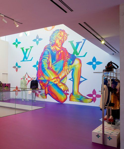 d1dbc5c403 louis vuitton opens pop-up store in miami to celebrate virgil abloh's debut  men's collection