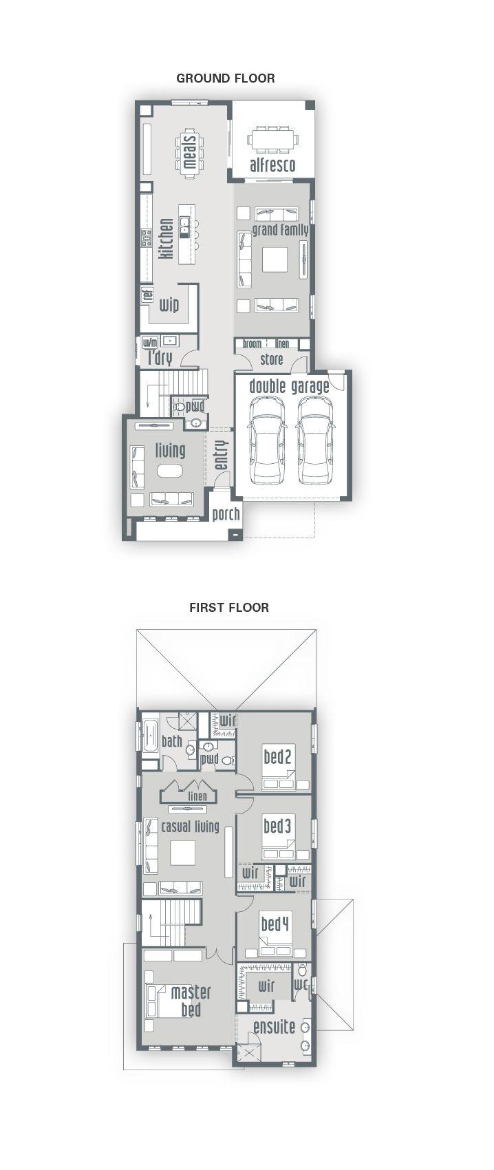 Building House Santena   New Home Designs   Urbanedge Homes - Melbourne Builders