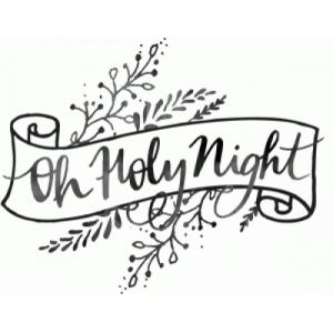 Silhouette Design Store - View Design #100829: oh holy night