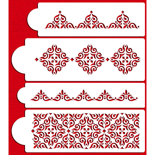Wedding and Tiered Cake Stencil Sets