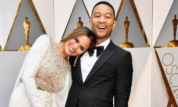 Oscars 2017: Chrissy Teigen And John Legend Are Once Again The Cutest Couple On The Red Carpet | The Huffington Post