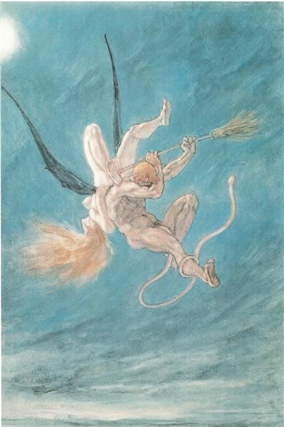 The Satanic. Removal - Rops Felicien