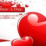 Red Valentines Day Hearts best Cover Photo for Facebook