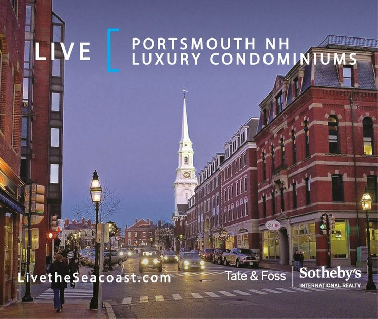 LIVE |  Portsmouth NH Luxury Condominiums. It's no surprise that our beautiful Seacoast city is one of the most desirable places to live, work and play! We invite you to take a closer look at the Portsmouth, New Hampshire Luxury Condominium Market, the hottest segment in Seacoast real estate. Did you know that there have been at least 20 sales exceeding $1 million since January 2016?